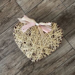 Handmade 💕 Valentines Heart 💕 Decoration